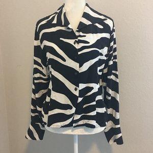 YvesSaintLaurent blouse size 8-10 (M)
